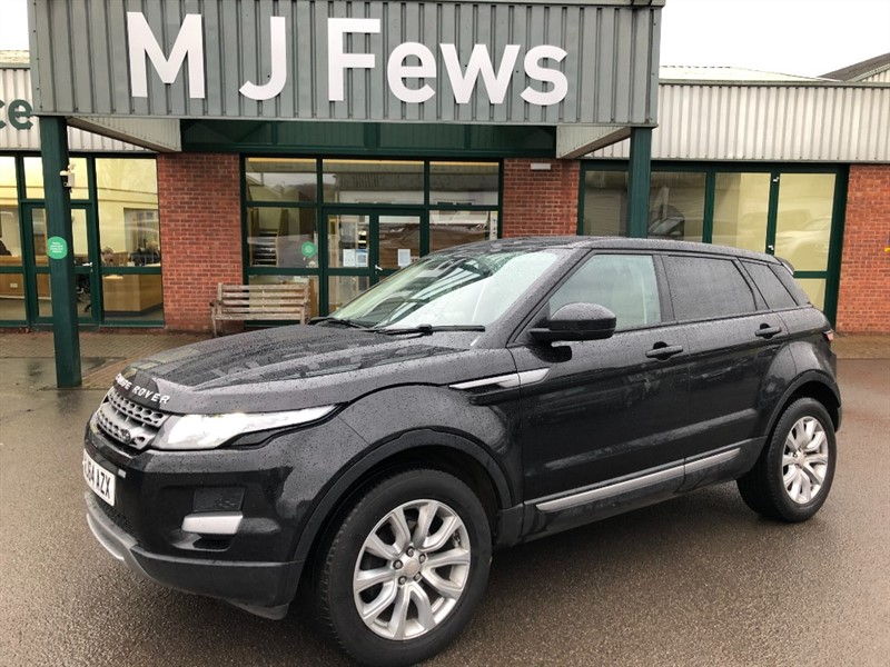 used Land Rover Range Rover Evoque SD4 PURE in gloucestershire