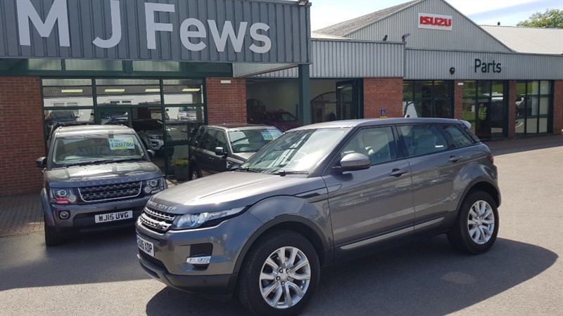 used Land Rover Range Rover Evoque SD4 PURE TECH AUTO in gloucestershire