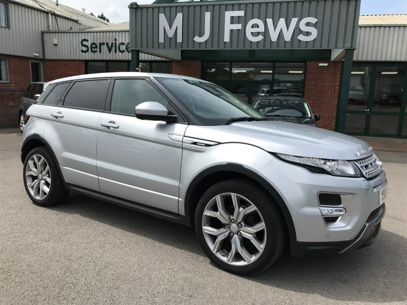 used Land Rover Range Rover Evoque SD4 AUTOBIOGRAPHY in gloucestershire