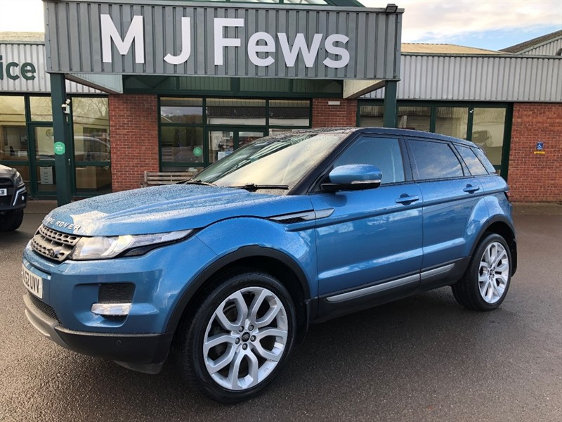 used Land Rover Range Rover Evoque TD4 PURE TECH in gloucestershire