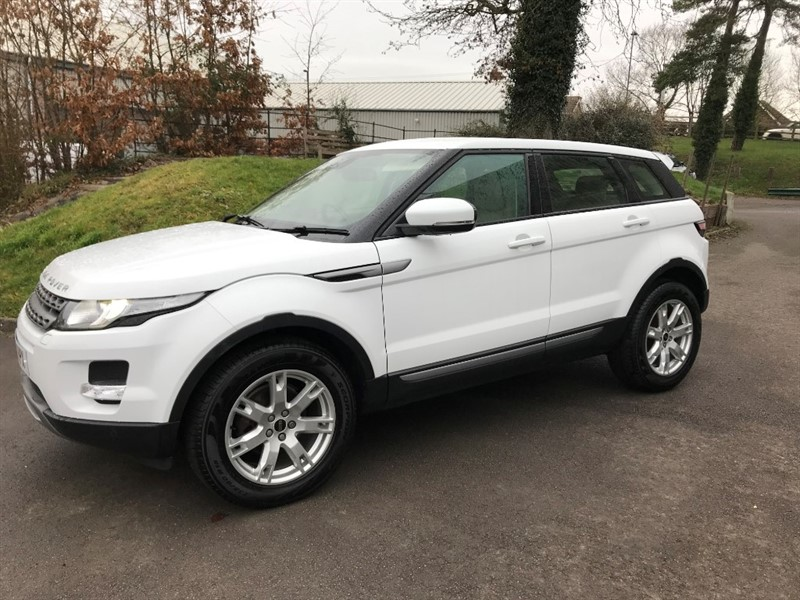 used Land Rover Range Rover Evoque SD4 PURE TECH 4x4 in gloucestershire