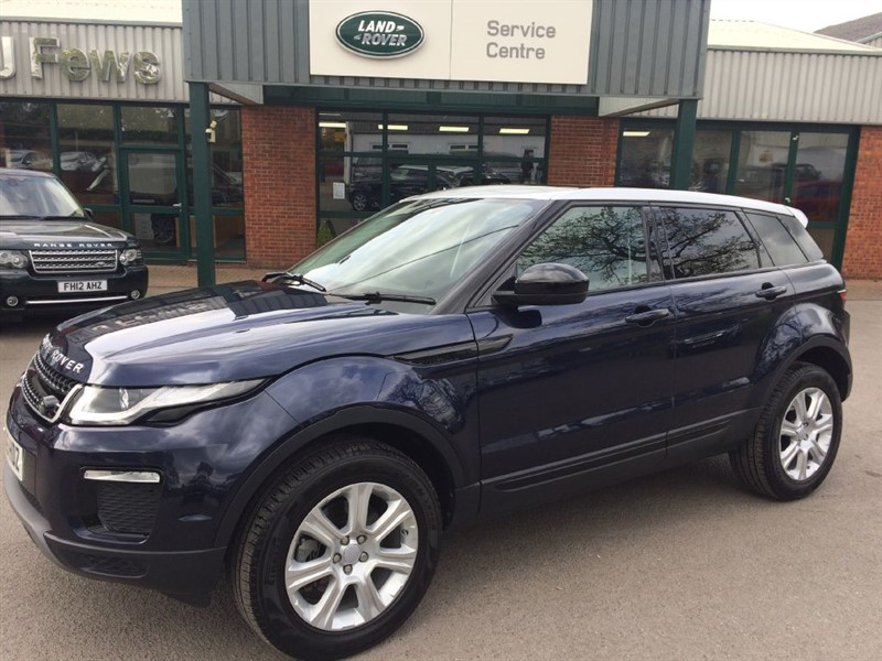 used Land Rover Range Rover Evoque TD4 SE TECH in gloucestershire