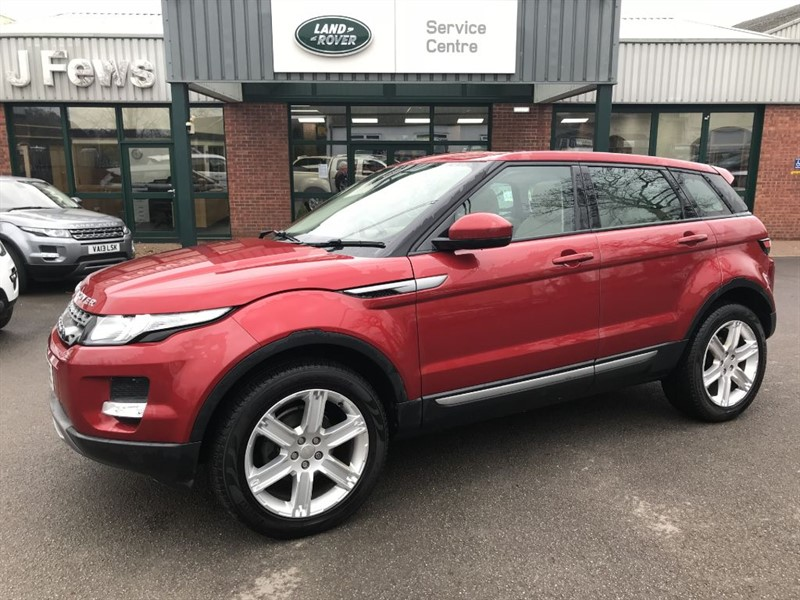 used Land Rover Range Rover Evoque SD4 PURE TECH in gloucestershire