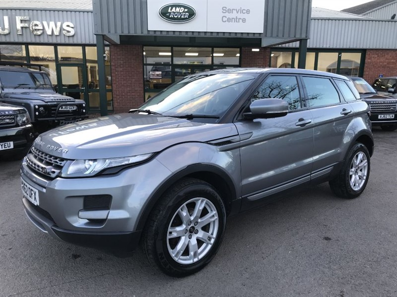 used Land Rover Range Rover Evoque TD4 PURE in gloucestershire