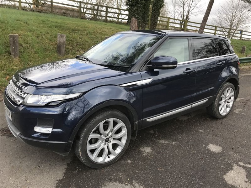 used Land Rover Range Rover Evoque SD4 PRESTIGE in gloucestershire