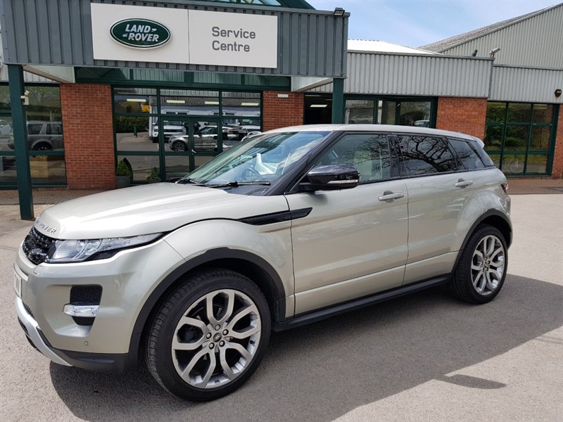 used Land Rover Range Rover Evoque SI4 DYNAMIC in gloucestershire