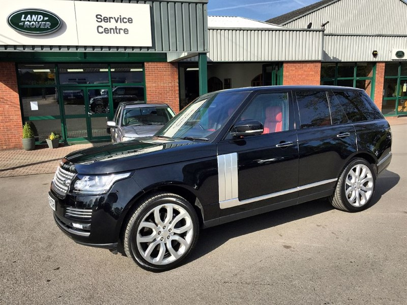 used Land Rover Range Rover SDV8 AUTOBIOGRAPHY in gloucestershire