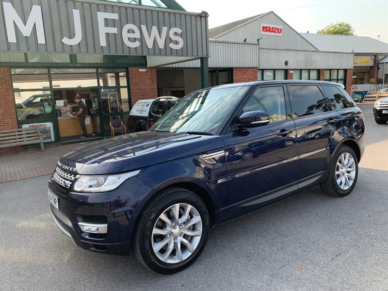 used Land Rover Range Rover Sport SDV6 HSE in gloucestershire
