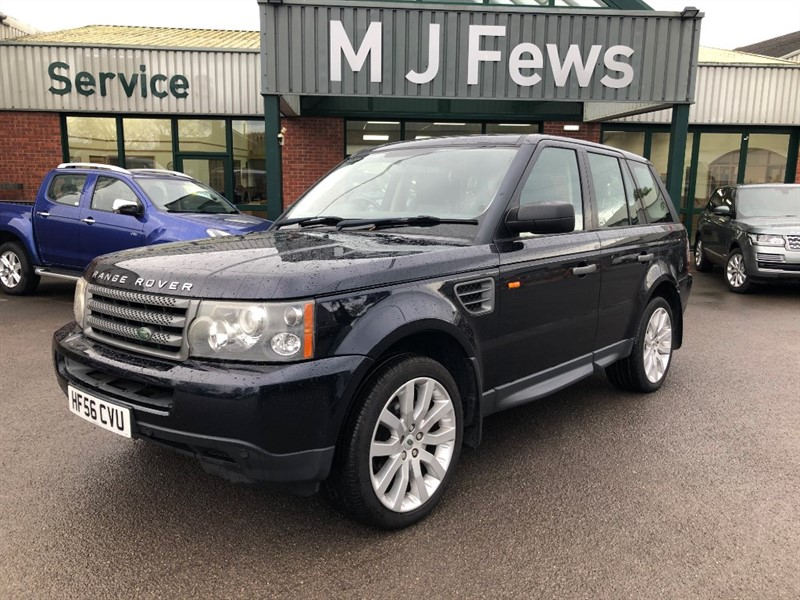 used Land Rover Range Rover Sport 2006 TDV6 HSE in gloucestershire