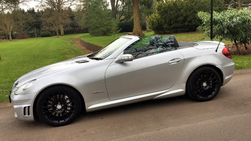 used Mercedes SLK55 AMG 5.5 V8 AMG in gloucestershire