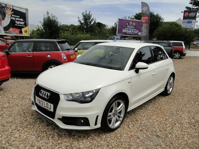 used Audi A1 1.2 TFSi Sport Back S Line 5dr Manual in dorset