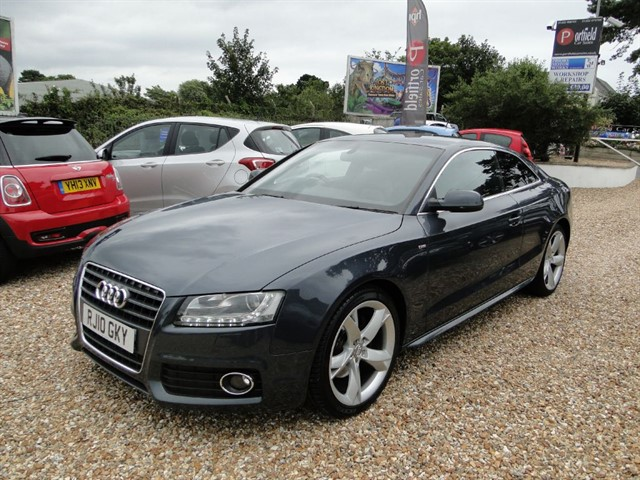 used Audi A5 2.7 TDV6 S Line Special Edition Coupe 2dr Auto Tip 8 Speed in dorset