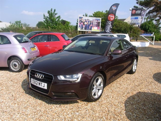 used Audi A5 2.0 TFSi Quattro SE Coupe 2dr Manual 6 Speed in dorset
