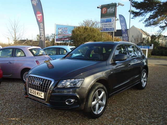 used Audi Q5 2.0 TDi Quattro S Line 5dr Manual 6 Speed  in dorset
