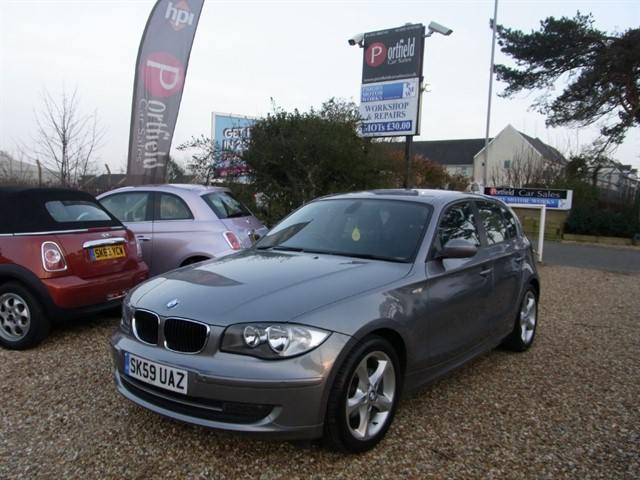 used BMW 116i 2.0 Sport 5dr Manual 6 Speed in dorset