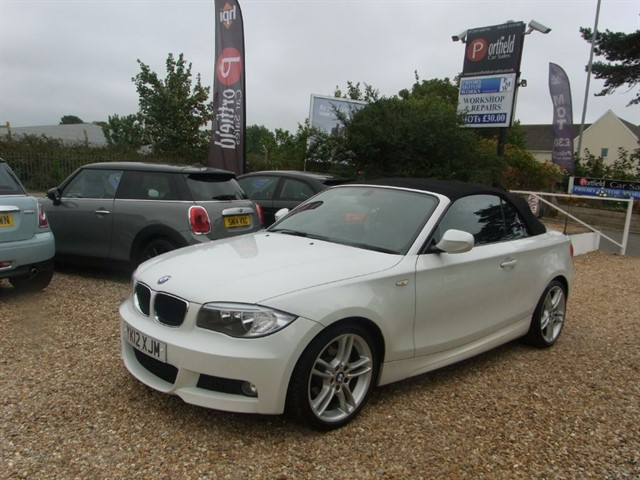 used BMW 118d 2.0 MSport Convertible 2dr Automatic in dorset