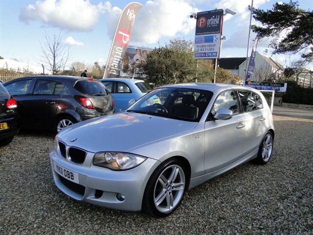 used BMW 118d 2.0 MSport 5dr Manual 6 Speed in dorset