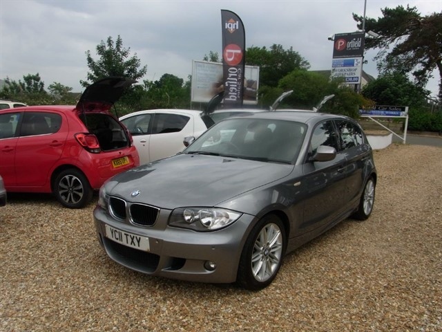 used BMW 120d 2.0 D MSport 5dr Manual 6 Speed in dorset