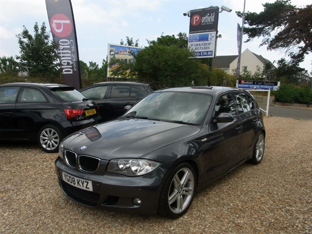used BMW 123d 2.0 MSport 5dr Manual 6 Speed in dorset