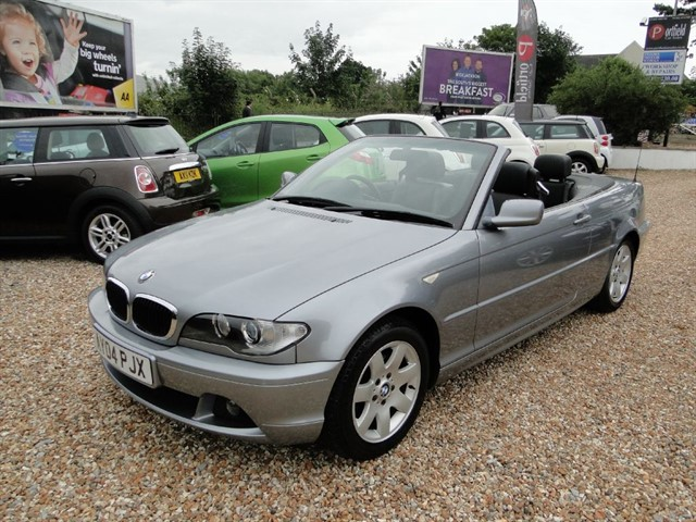 used BMW 318 2.0 Ci SE Convertible 2dr Auto in dorset