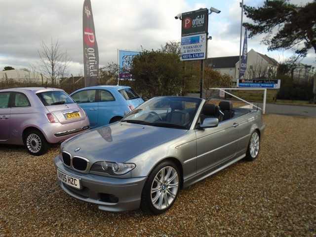 used BMW 318 2.0 Ci Sport Convertible 2dr Manual  in dorset