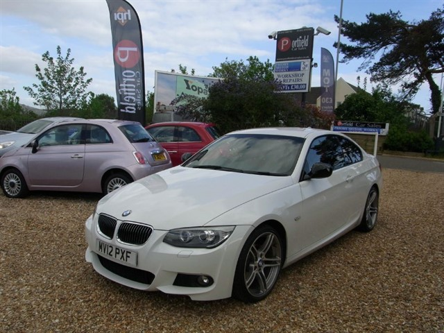 used BMW 318i 2.0 Sport Plus Edition Coupe 2dr Manual 6 Speed in dorset
