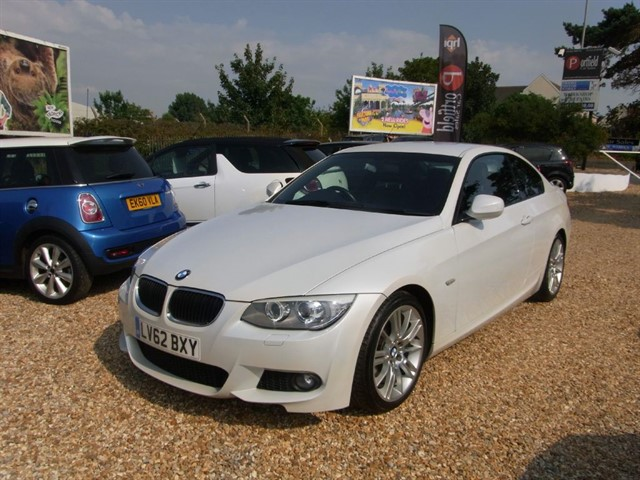 used BMW 320d 2.0 D MSport Coupe 2dr Manual 6 Speed in dorset