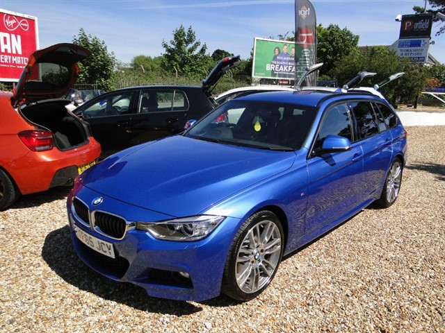 used BMW 320d 2.0 MSport Touring Auto Tip in dorset