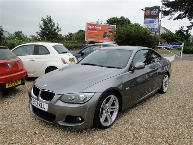 used BMW 320i 2.0 MSport Coupe 2dr Auto Tip in dorset
