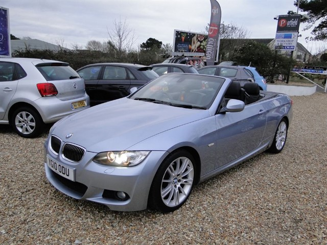 used BMW 325d 3.0 MSport Convertible 2dr Auto Tip in dorset