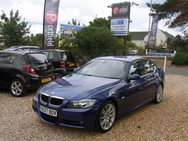 used BMW 325i 2.5 MSport 4dr Manual 6 Speed in dorset