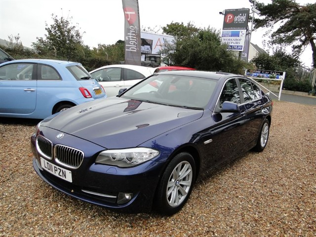 used BMW 520d 2.0 SE 4dr Auto Tip in dorset