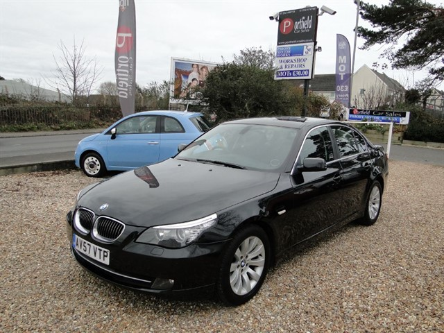 used BMW 530d 3.0 SE 4dr Auto Tiptronic in dorset