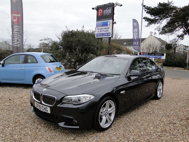 used BMW 530d 3.0 MSport 4dr Manual 6 Speed in dorset