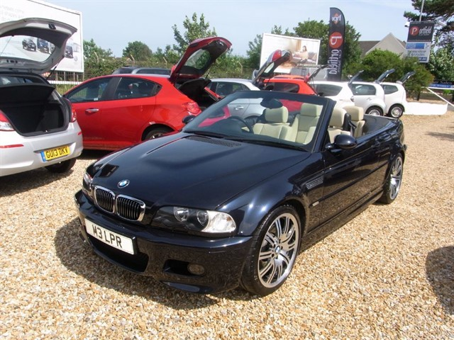 used BMW M3 3.2 Convertible 2dr Manual 6 Speed in dorset