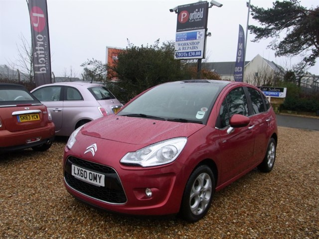 used Citroen C3 1.6 HDi 16v Exclusive 5dr Manual in dorset
