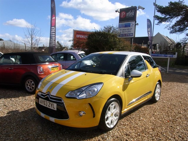 used Citroen DS3 1.6 VTi DStyle Plus 3dr Manual in dorset