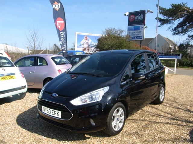 used Ford B-Max 1.0T EcoBoost Zetec 5dr Manual in dorset