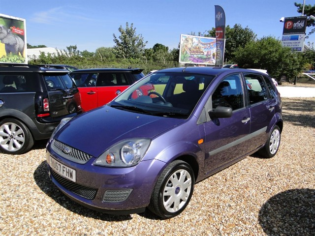 used Ford Fiesta 1.2 Style 5dr Manual in dorset
