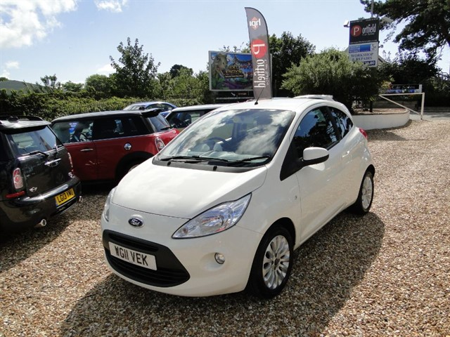 used Ford KA 1.2 Zetec Start/Stop 3dr Manual in dorset