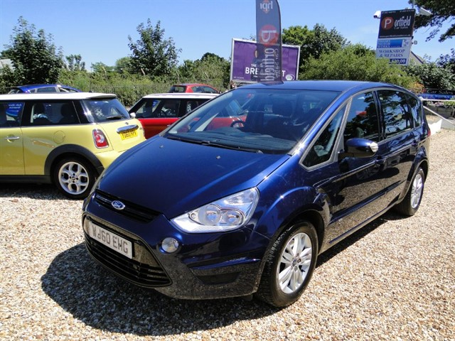 used Ford S-Max 2.0 TDCi Zetec MPV 7 Seat Manual 6 Speed in dorset
