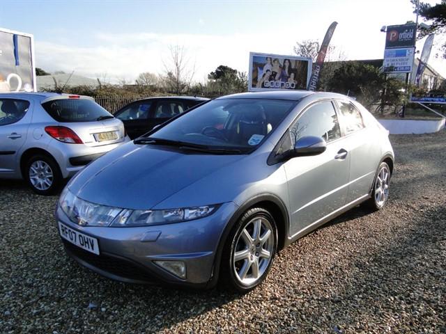 used Honda Civic 1.8 iVTec EX 5dr Manual 6 Speed in dorset