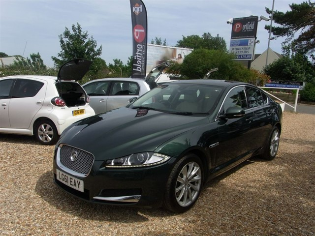 used Jaguar XF 2.2d Luxury 4dr Auto Tip in dorset
