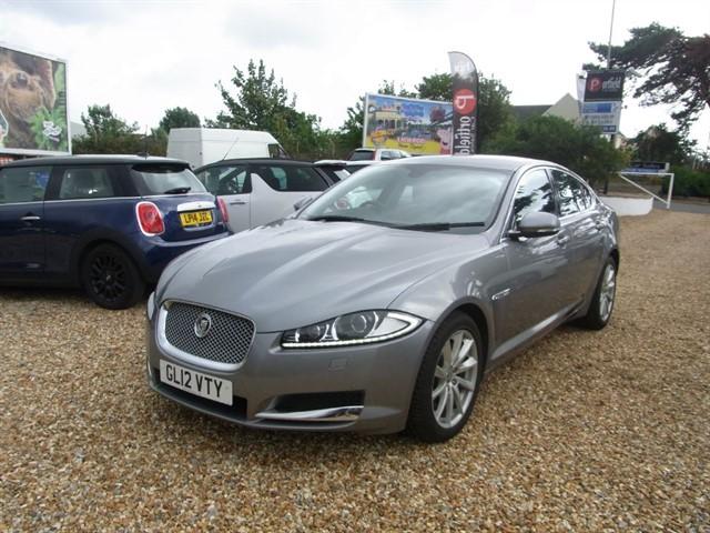 used Jaguar XF 3.0 TDV6 Premium Luxury 4dr Auto Tip in dorset