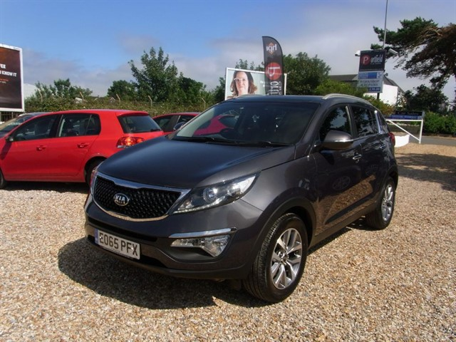 used Kia Sportage 1.6 2 ISG 5dr Manual 6 Speed in dorset
