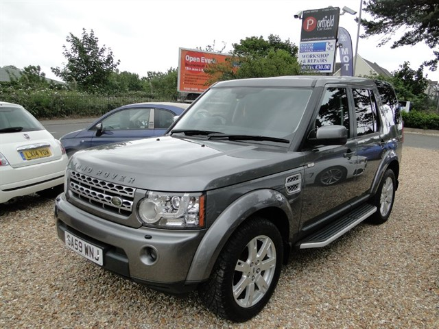 used Land Rover Discovery 4 3.0 TDV6 GS 4x4 7 Seat 6 Speed Auto in dorset