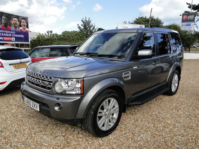 used Land Rover Discovery 4 3.0 TDV6 HSE 4x4 7 Seat 5dr Auto in dorset