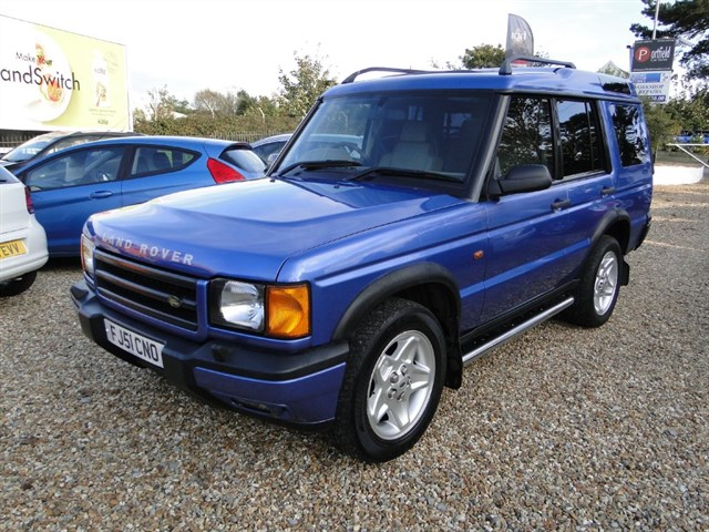 used Land Rover Discovery 2.5 Td5 ES 4x4 7 Seat 5dr Automatic in dorset
