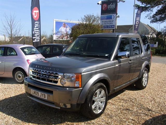 used Land Rover Discovery 3 2.7 TDV6 GS 4x4 7 Seat 5dr Automatic in dorset