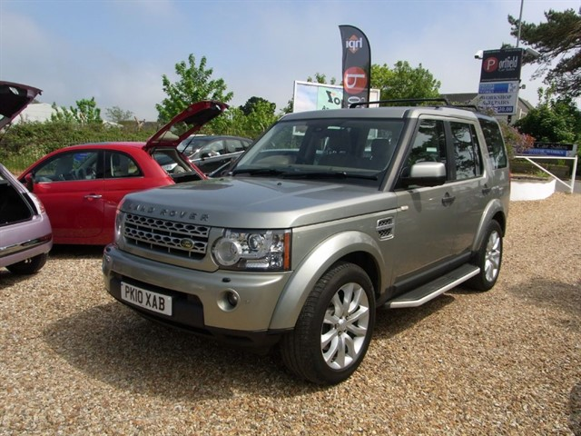 used Land Rover Discovery 4 3.0 SDV6 HSE 4x4 7 Seat 5dr Auto in dorset